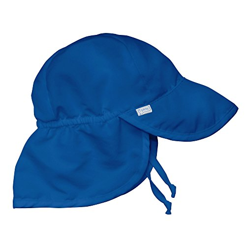i play. Flap Sun Protection Hat | All-day sun protection for baby's head, neck, & eyes | Adjustable size, UPF 50+ protection, Quick-dry, Comfortable wicking liner