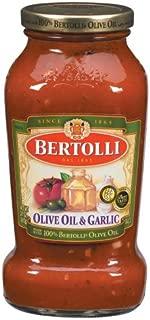 Bertolli Olive Oil & Garlic Pasta Sauce (Case of 12)