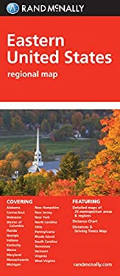 """Folded Map: Eastern United States (""""Learn to"""" sports books)"""