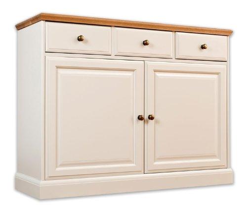 avana Painted Furniture quercia, 3cassetto, credenza, sala da pranzo