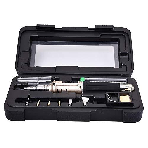 ZHQHYQHHX Professionele Butaangas soldeerbout Kit laskit Torch Handige en modieuze lassenkanon Compact formaat (Color : Mutil, Power : Under 50W)