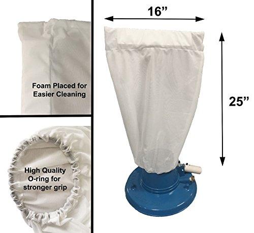 Ersatzbeutel für Pool Leaf Master Staubsauger – Laubbeutel – Laubfänger – passend für alle