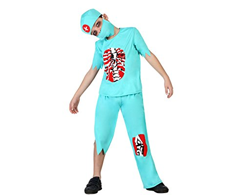 Atosa 22778 Disfraz doctor zombie 5-6 años, talla niño