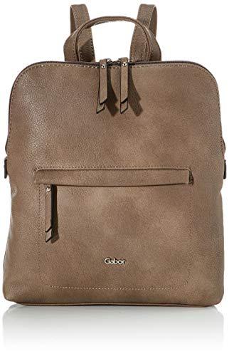 Gabor bags Rucksack Damen Mina, Taupe, M, Rucksackhandtasche, Tasche Damen
