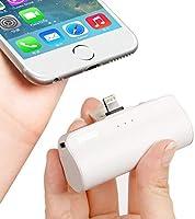 iWALK Externer Akku 3350mah Tragbares Power Bank Kompakt Handy Ladegerät Kompatible für iPhone 11 XS Max X 8 8 Plus 7 7...