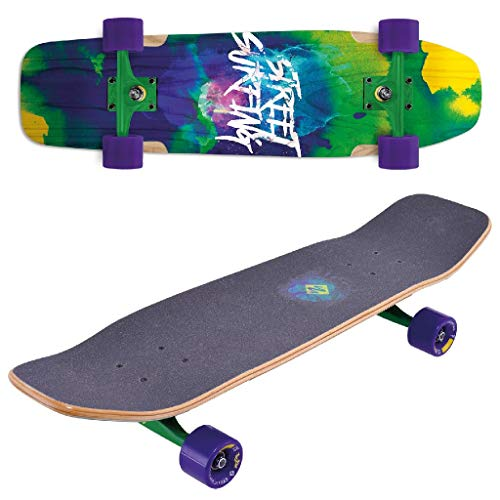 Streetsurfing Street Surfing Longboard Double Kick 31 Design:Road Blast P2, 500289, Mehrfarbig, M