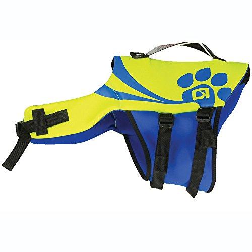 O'Brien Pet Life Vest, Medium, Yellow/Blue