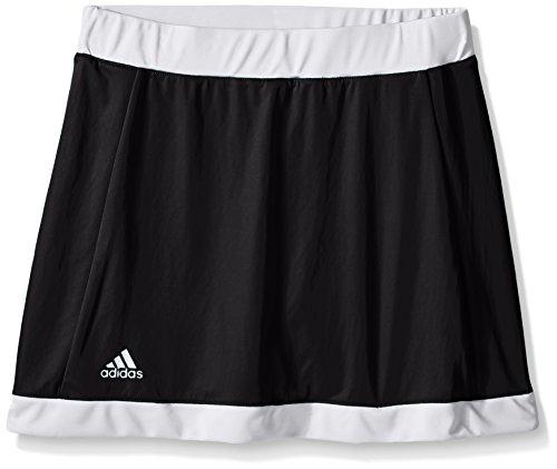 adidas Performance Girls Court Skort, Black, Large