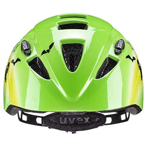 uvex Unisex Jugend Kid 2 Fahrradhelm, Green, 46-52 cm - 2