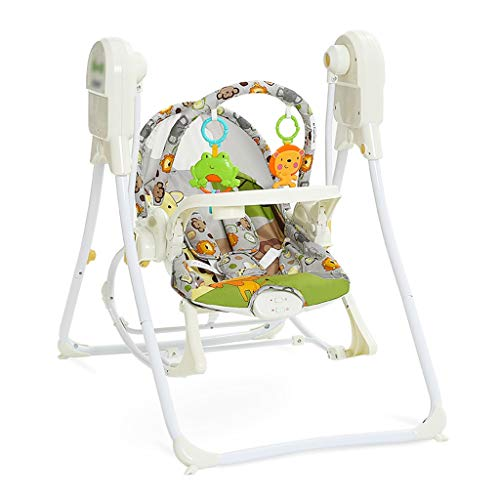 Qi Tai Wiege Stuhl Baby Schaukelstuhl Recliner Baby Elektrische Schaukelstuhl Wiege Stuhl Kleine Shaker Komfortable Stuhl Schaukelbett Baby Wiege Baby Schaukelstuhl (Farbe : A)