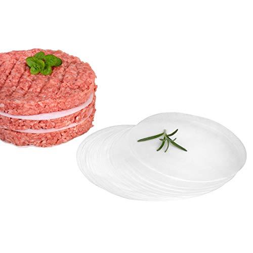 GRÄWE® Backpapier 50 Stück für Hamburgerpresse