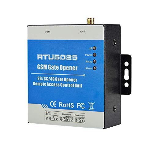 Puerta Abridor RTU5025 SMS On Off Portátil Gsm 3G por Móvil Interruptor Remoto Operador Inalámbrico Puerta Abridor Alarma