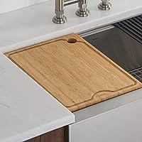 Kraus Kore 16.75 x 12 Inch Bamboo Cutting Board