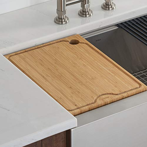 Kraus KCB-WS102BB Kore Cutting Board, 16.75 in