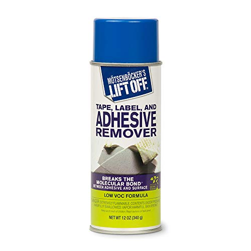 MOTSENBOCKER LIFT-OFF 402-11 Tape, Label, and Adhesive Remover, 11 oz, Clear
