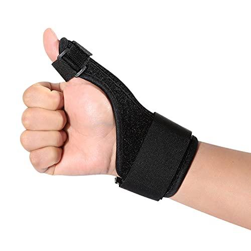 iZhuoKe Flexible Daumenbandage,Universelle Daumenbandage für Rechts & Links,Daumenorthese und -Bandage bei Daumenverstauchung,Arthritis,Sehnenscheidentzündung,Schmerzlinderung