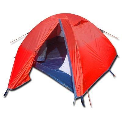 Flytop Lz01–008 2 personnes Double couche Tente de randonnée en aluminium Rod coupe-vent imperméable à l'eau pour le camping randonnée Voyage d'escalade – Facile à installer