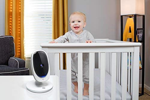 "Motorola Comfort 50 Video Baby Monitor with 5"" Color Display, Digital Zoom, Two-Way Audio, Infrared Night Vision and 5 Soothing Lullabies"