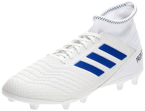 adidas Herren Predator 19.3 FG Fußballschuhe, Mehrfarbig (Ftwbla/Azufue/Azufue 000), 42 EU