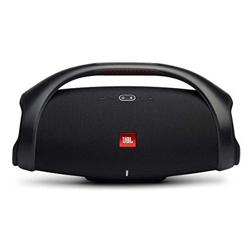 JBL Boombox 2 Waterproof Portable Bluetooth Speaker with Long Lasting Battery - Black (Renewed)