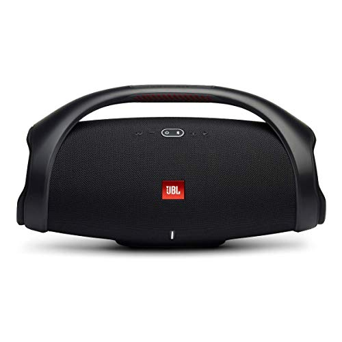 JBL Boombox 2 Waterproof Portable Bluetooth Speaker with Long Lasting Battery - Black (Renewed)