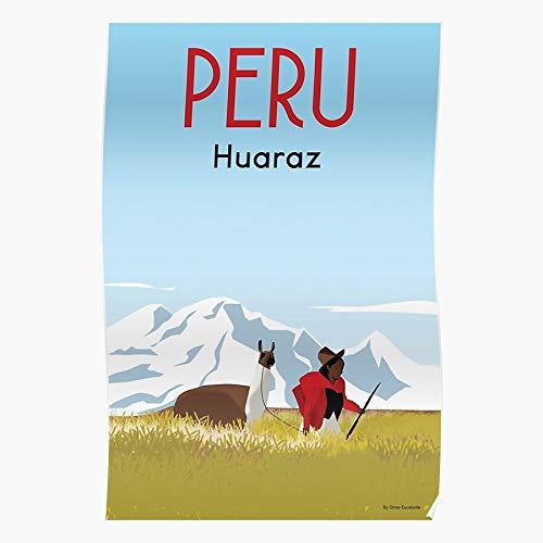 Generic Alpacas Wall Peru Alpaca Advertising Vintage Printe Travel Home Decor Wandkunst drucken Poster !