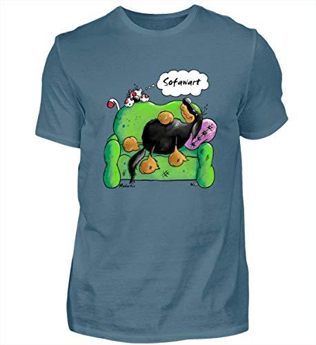 Sofa wart - Camiseta para hombre Color azul. S