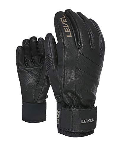 Level Herren Handschuhe Rexford, Black, 8,5