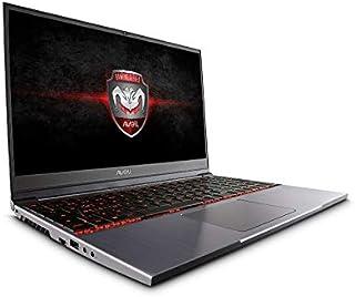 "Notebook Gamer Avell G1550 MUV GTX 1660Ti Core i7 16GB M.2 512GB 15.6"" Prata"