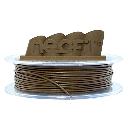 neofil3d 3760244300973Wood Filamento per Stampante 3d, 2,85mm, DARK WOOD