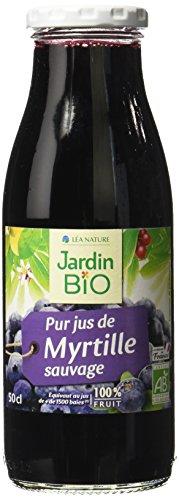Jardin Bio Pur Jus de Myrtille Sauvage 50 cl