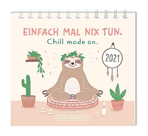 "Mini-Kalender 2021 ""Einfach mal nix tun."""