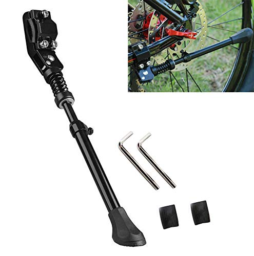 SEISSO Bike Kickstand Mountain Bicycle Rear Kickstand 18 20 Inch Adjustable Kick Stand Aluminum Alloy 18-20 Inch