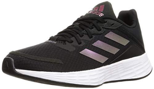 adidas Duramo SL, Zapatillas de Running Mujer, NEGBÁS/IRIDES/GRISEI, 38 2/3 EU