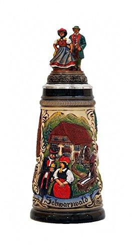 Zöller & Born Jarra de Cerveza Alemana Panorama de la Selva Negra, Jarra 0,5 litros ZO 1749/9013