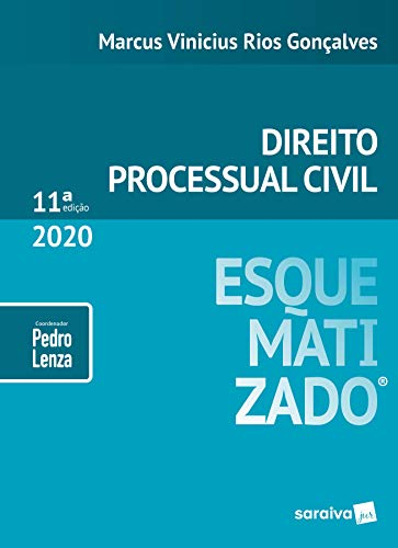 Direito Processual Civil esquematizado - 11ª edição de 2020