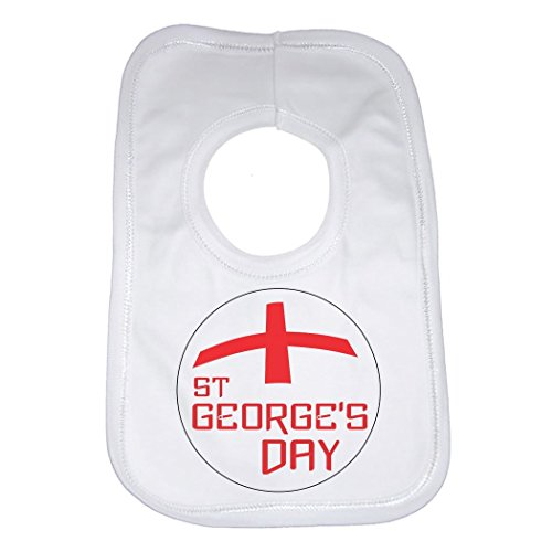 Bavoir bébé Jour de St Georges – pour les garçons et les filles – Mixte