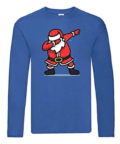Camiseta de Manga Larga con diseño de Papá Noel y Bailarinas (Manga...