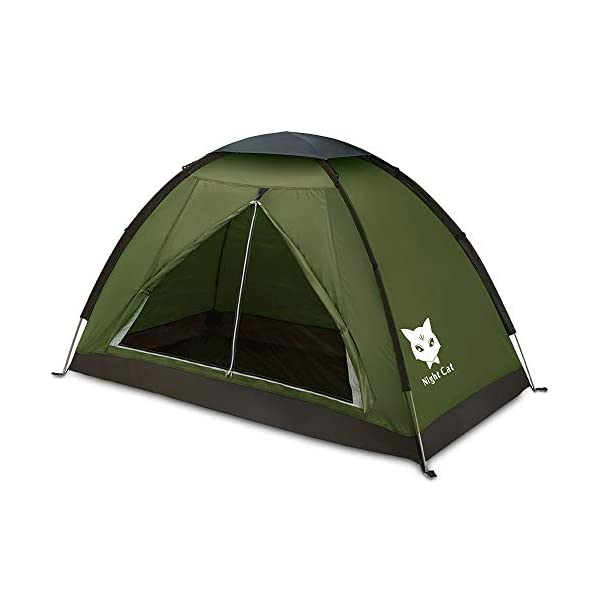 Night-Cat-Backpacking-Tent-for-One-1-to-2-Persons-Lightweight-Waterproof-Camping-Hiking-Tent-for-Adults-Kids-Scouts-Easy-Setup-Single-Layer-22x12m