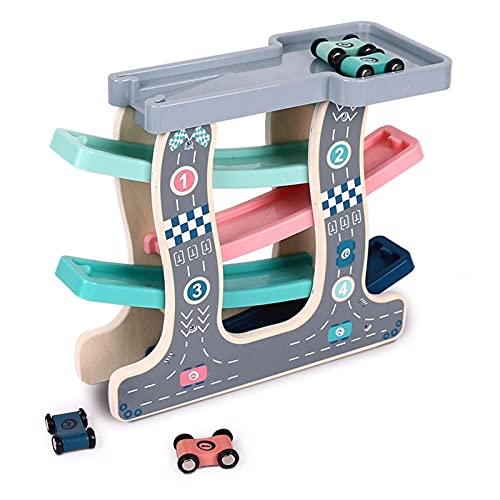 Auto Rennbahn Geschenk Junge Auto Rampe...