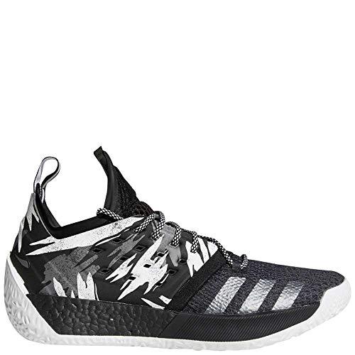 adidas Harden Vol. 2'Blue Night Shoe - Men's Basketball 7.5 Blue Night/Bright Cyan/Shock Red