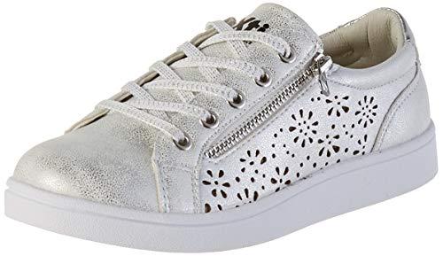 XTI 57184, Zapatillas para Niñas, Blanco (Hielo Hielo), 34 EU