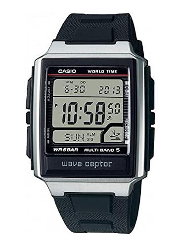 Casio Collection WV-59R-1AEF - Reloj Digital, radiocontrolado con Correa de Resina.