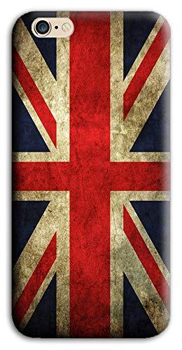 Mixroom - Cover Custodia Case in TPU Silicone Morbida per iPhone 5 / 5S M700 Inglese Inghilterra