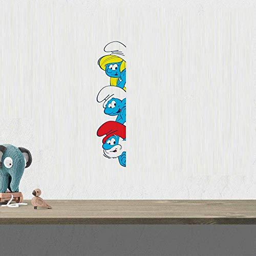 Die Schlümpfe Cartoon Film Charakter Wandaufkleber Abziehbilder Kunst Aufkleber Jungen Mädchen Baby Schlafzimmer Spaß Wohnkultur