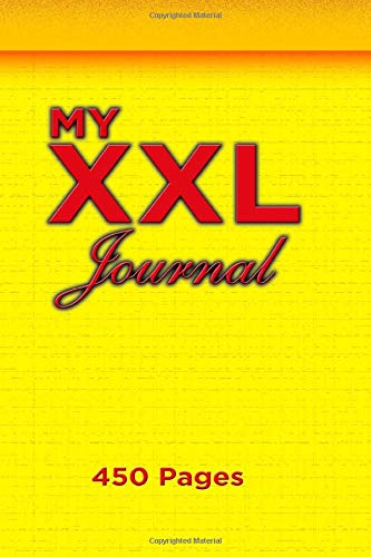 My XXL JOURNAL: Journal, notebook 6 x 9 inches , 450 Pages ligned book to write in for women, girls and men