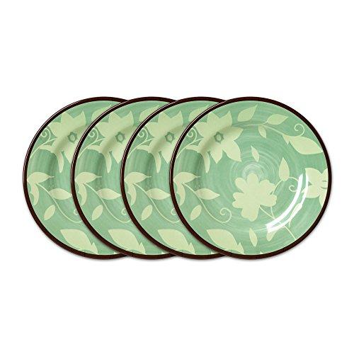 Pfaltzgraff Patio Garden Melamine Salad Plates (9-Inch, Set of 4)