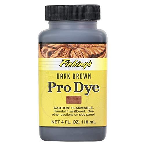 Fiebing's Pro Dye, Dark Brown, 4 oz.