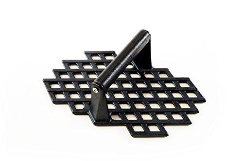 Charcoal Companion Gusseisen Durchmesser Grill Press, CC5159