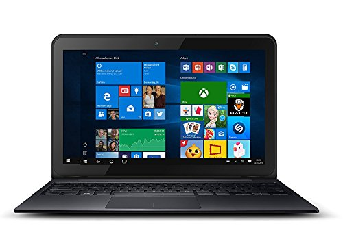 Odys Prime Win 12 2in1 29,5 cm (11,6 Zoll) Tablet-PC (Intel Atom Quadcore x5-Z8350, 2GB RAM, 32GB Flash HDD, Win 10) schwarz